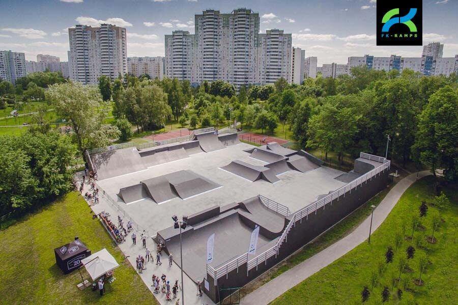Устройство BMX-парка FK-ramps