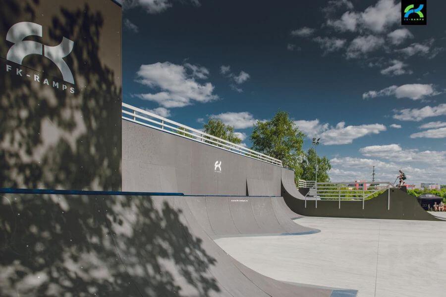 Устройство BMX-парка